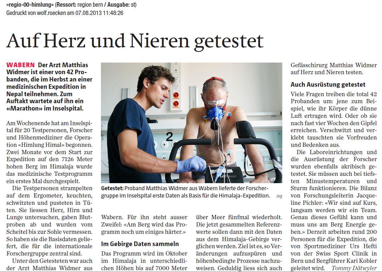 Berner Zeitung 07-13