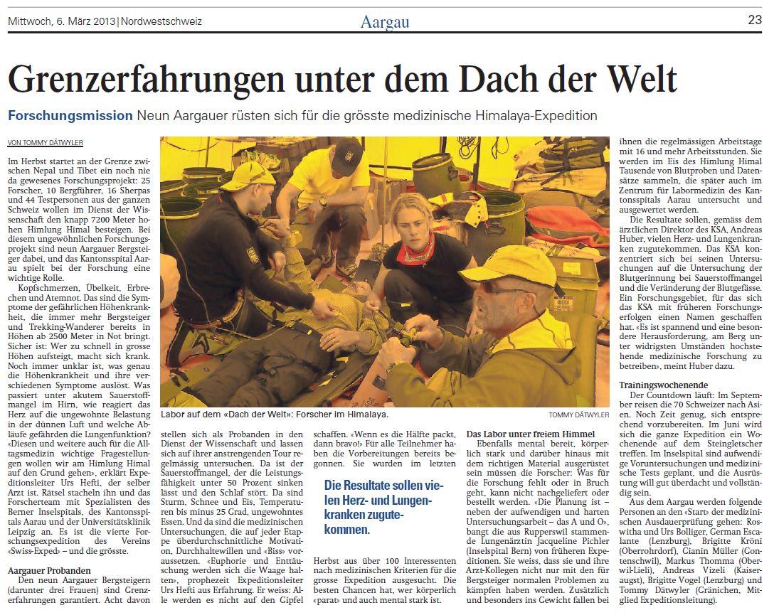 Aargauer Zeitung 03-13