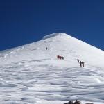 Aufstieg auf den Gipfel