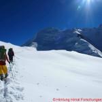 090 climbing Richtung Gipfel unterwegs