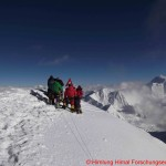 101 climbing sherpas on the top