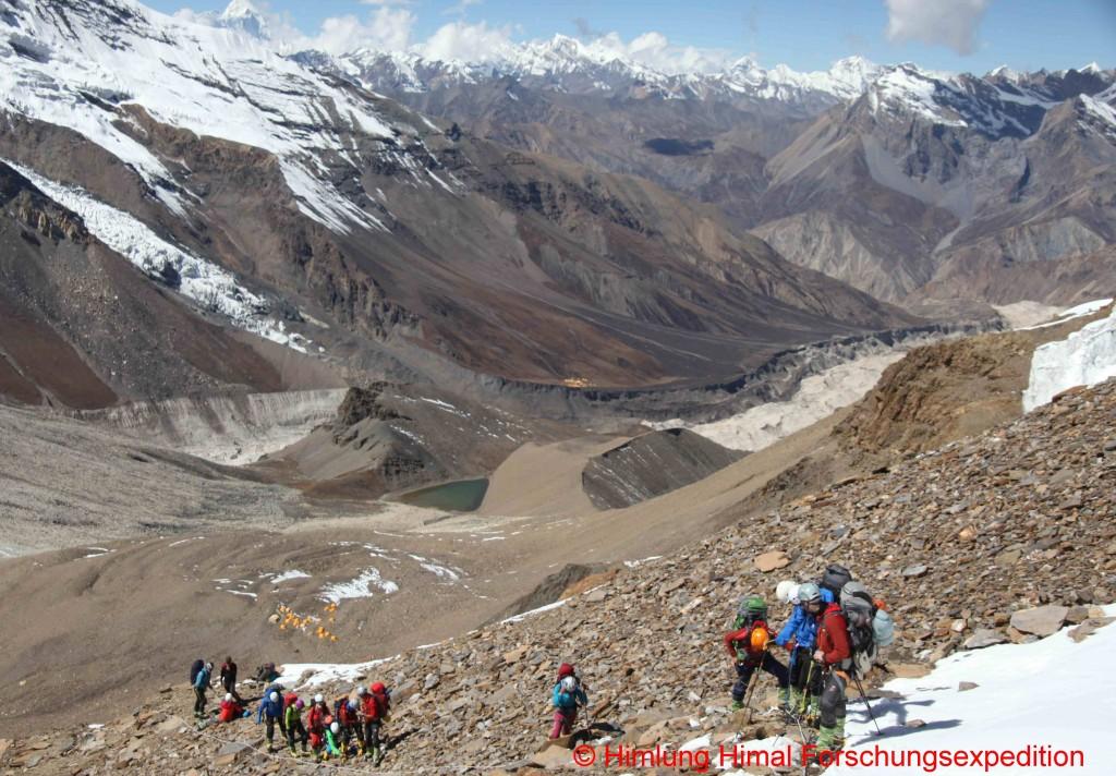 106 climbing unglaubliche sicht
