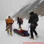 113 Rettung durch den Schnee
